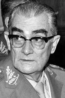 Orlando Geisel (1905-1979). In his position as the head of the National Information Service (SNI) under Médici, Orlando played a key role in the selection of his younger brother as president.