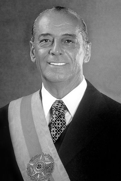 João Baptista Figueiredo (1918-1999), who served as the last president of Brazil's military dictatorship, governing from 1979 to 1985.