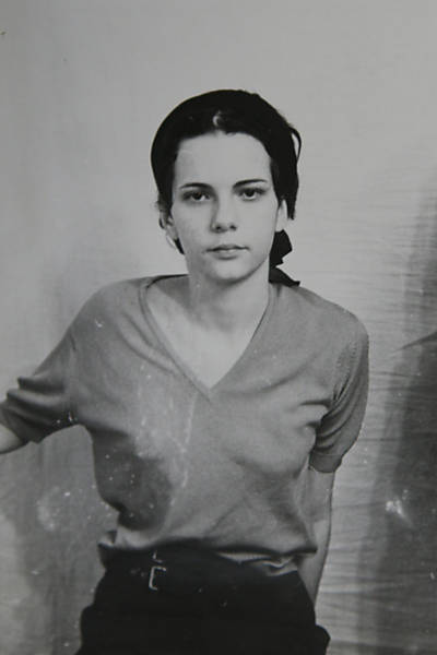 Vera Sílvia Magalhães during her time in prison in 1970.